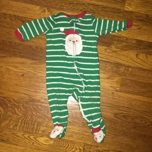 Six month baby boy Christmas onesie